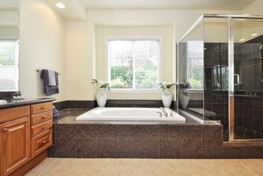 21 Master bathtub shower