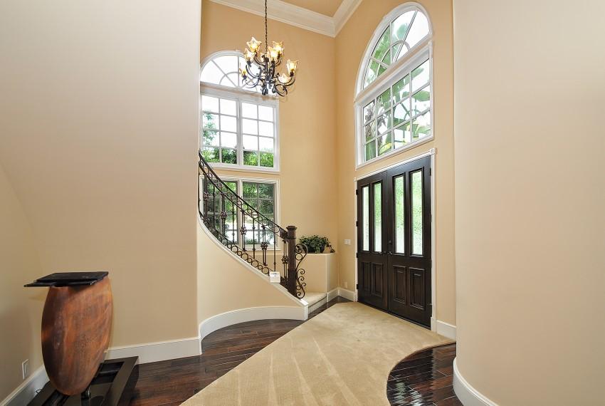 3 Foyer stairs front door