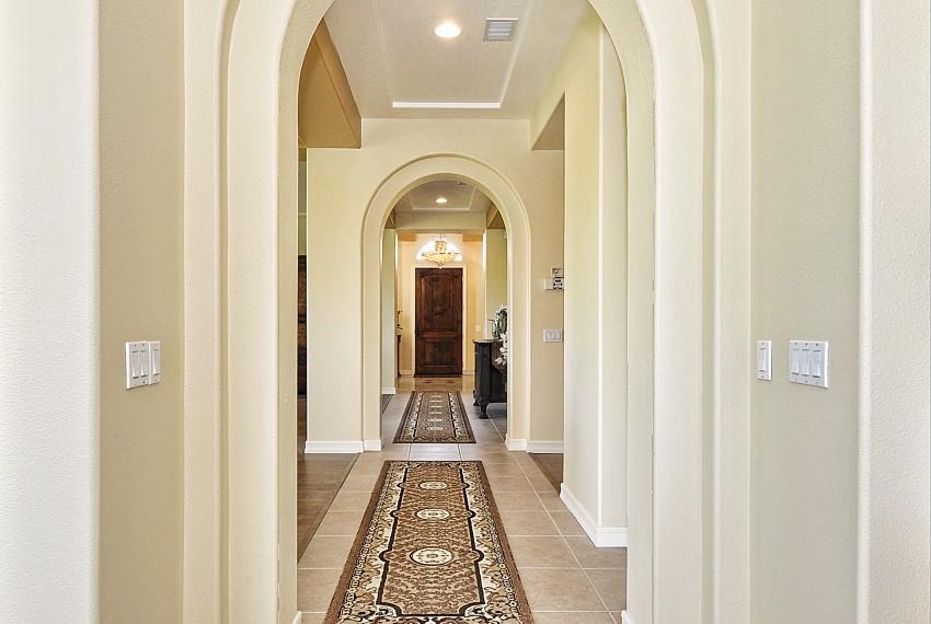 5 Arched Hallway